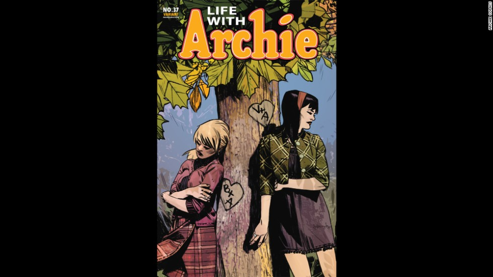 "Issue No. 37 marks the final installment of ""Life With Archie."""