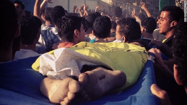Four boys, aged 9 to 11, were killed on Gaza's beach July 16 when an Israeli shell exploded near them at the Al-Shati refugee camp in northern Gaza, according to Palestinian officials. Muhammed, Ismail, Zakaria and 'Ahed, are all cousins from the extended Bakr family.