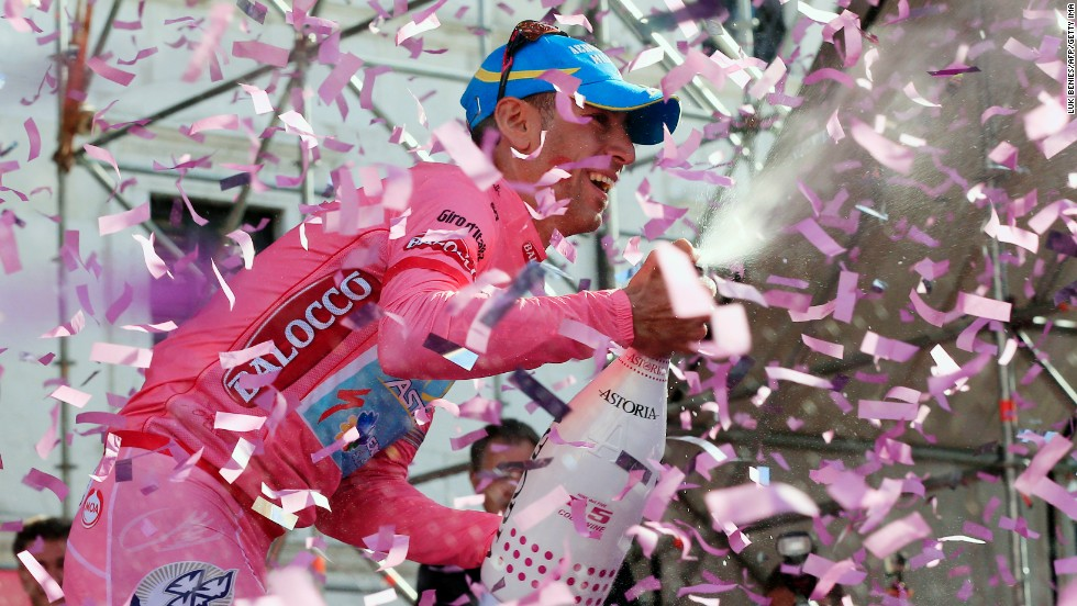 The highlight of Nibali's career was victory in the 2013 Giro d'Italia on home roads.