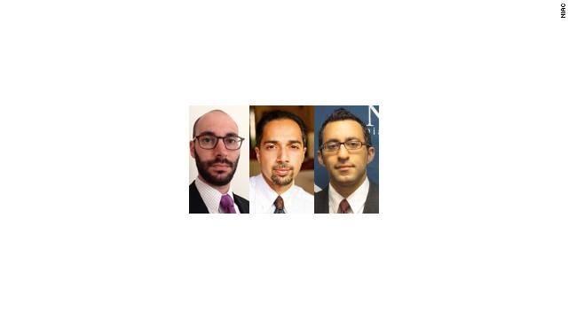 Jonathan Leslie, Trita Parsi, Reza Marashi