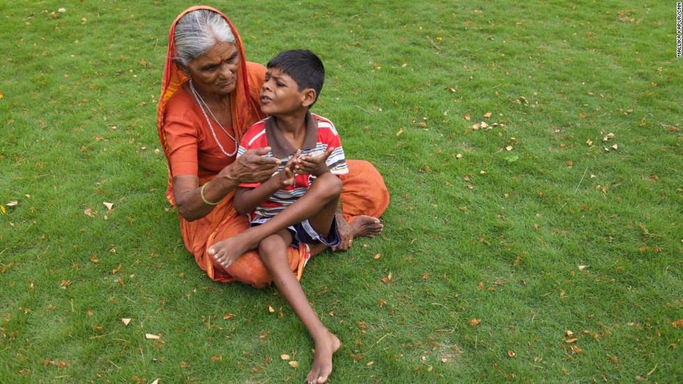 Lakhan and his grandmother Sakubai were taken in by Samata Shikshan Prasarak Mandal (SSPM), an organization that provides care for children like him. They also offered Sakubai a job in a hostel.