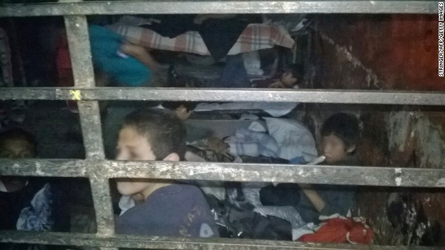 Children kept in squalor in Mexico