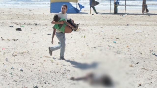 Gaza City beach four boys killed photojournalist Hicks interview Newday _00003727.jpg