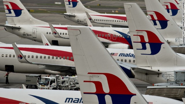 File photo: Malaysia Airlines planes parked on the tarmac at the Kuala Lumpur International Airport in Sepang on June 17, 2014.