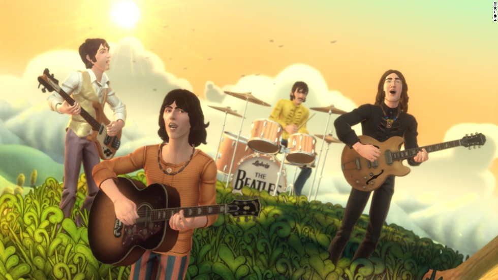 """The Beatles: Rock Band"" was released September 9, 2009. Or 9/9/9. Number nine. Number nine. Number nine. Closely supervised by the Beatles and their estates, the game lets players sing and strum along on a huge list of Beatles classics over scenes ranging from Liverpool's Cavern Club to their final performance on a London rooftop."
