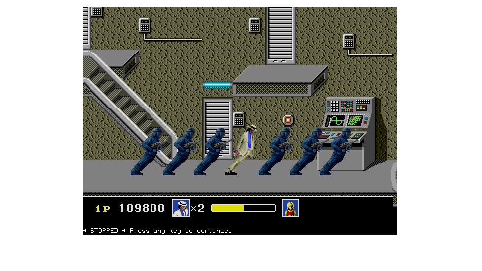 """Moonwalker"" is the title of a series of Michael Jackson games based on the pop icon's 1988 movie of the same name. Although expansive soundtracks and pop-culture tie-ins are standard today, the series was groundbreaking in the gaming world, and images from the games can still be found in nostalgic corners of the Web."