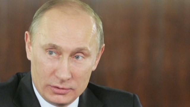 Putin blames Ukraine for MH17 attack