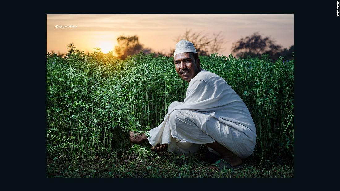 Farmer from Tuti Island.