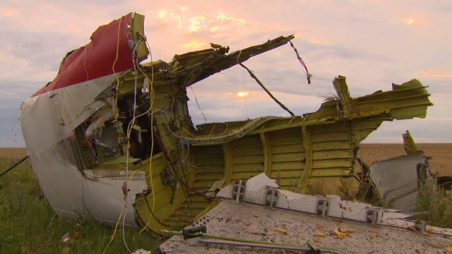 Inside the MH17 crash site