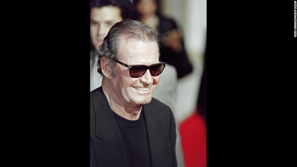 "Garner smiles as he arrives for the premiere of the film ""Maverick"" in Los Angeles on May 12, 1994."