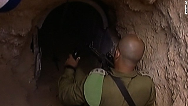 Tunnels cause trouble for Israeli forces