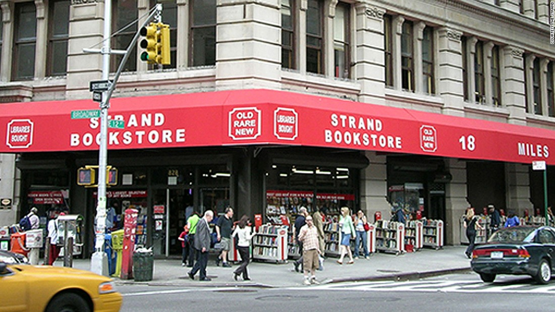 Strand on Broadway is the only survivor of Manhattan's old Book Row -- a now-extinct district of bookstores.