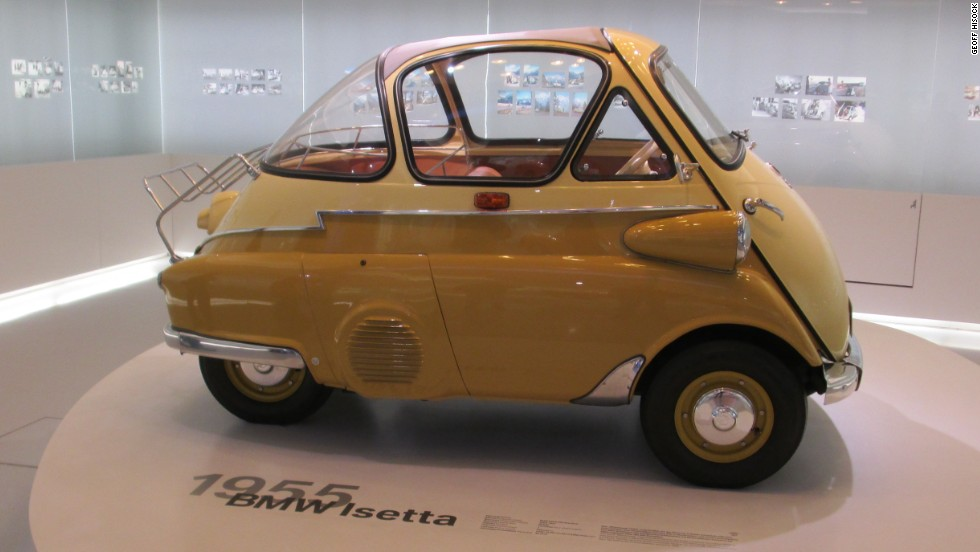 A rather curious cousin to the high performance vehicles BMW is known for, but this 1955 BMW Isetta bubble car has a charm of its own.