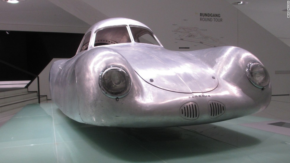 Clearly the forerunner of all Porsches, this tiny streamlined prototype was designed as a long-distance racing coupe by company founder Ferdinand Porsche.