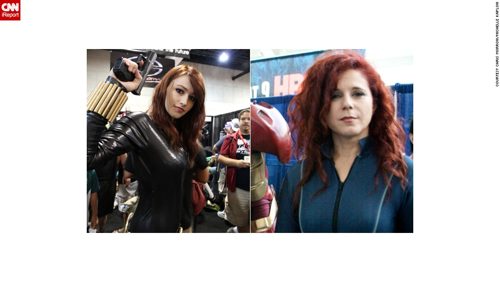 "Black Widow has grown in popularity since her appearances in Marvel movies like ""The Avengers."" Here we have two from 2010. Which was best? Let us know below."