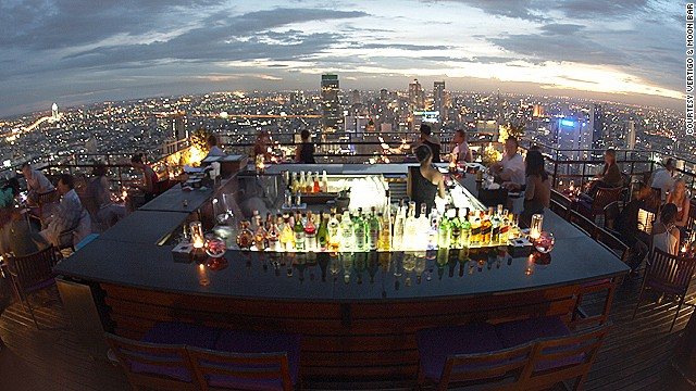 Vertigo & Moon Bar at Banyan Tree, Bangkok, Thailand