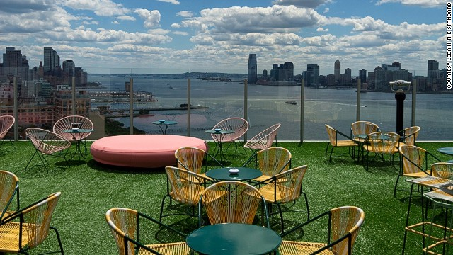 Chairs, check. Turf, check. Views, double check.