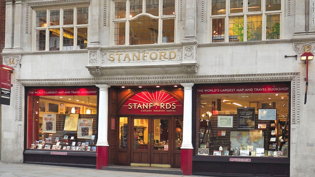 Stanfords Bookstore in the heart of Covent Garden in London is one of the world's finest travel book shops. No matter how unknown the Unknown is, Stanfords probably has not only a guidebook, but a fold-out street map detailing where to find the Unknown's best cocktails.