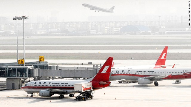 Shanghai Hongqiao International Airport is one of the 12 airports experiencing severe flight cancellations and delays.