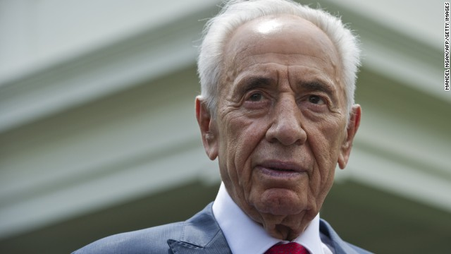 Former Israeli President Shimon Peres is 92 years old.