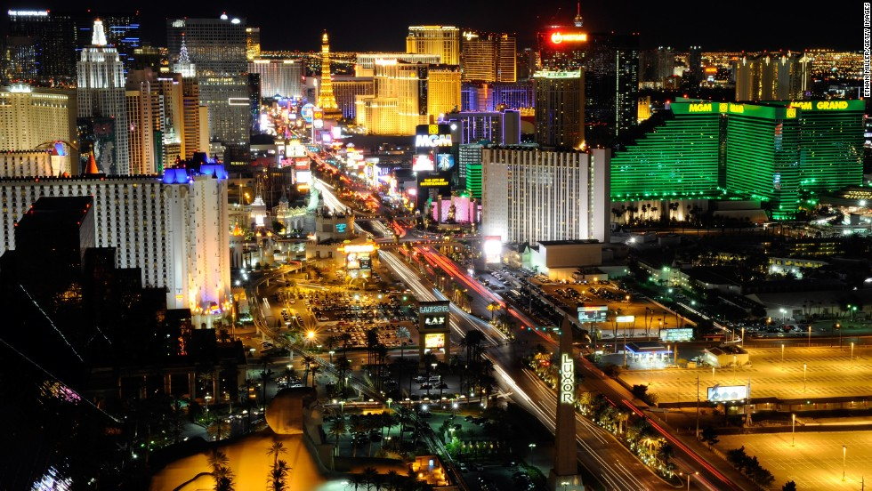 """In the shadow of the Las Vegas strip, Tony took a look at """"the other Vegas"""" last season. """"The Vegas people live in year-round. The Vegas I've always loved."""""""