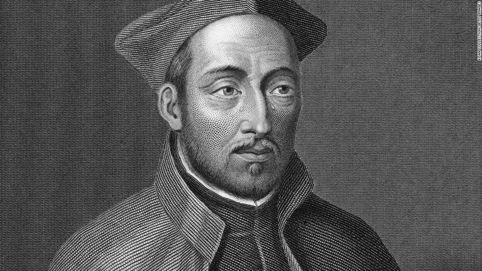 St. Ignatius of Loyola (1491-1556) was a Spanish knight, priest and founder of the Society of Jesus, also known as the Jesuits.