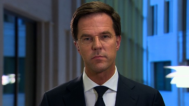Dutch PM: Arming separatists was wrong