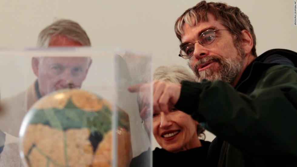 Brother Guy Consolmagno, a Jesuit astronomer at the Vatican's Observatory, was awarded the Carl Sagan Medal earlier this year.