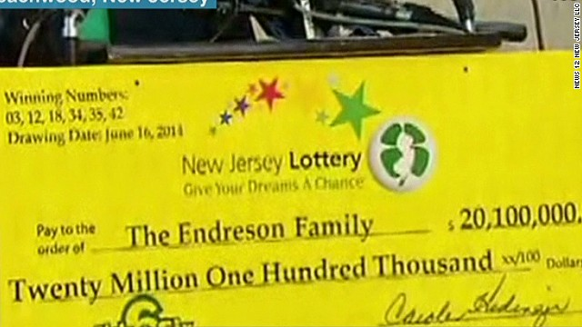 Family of 17 wins $20 million jackpot