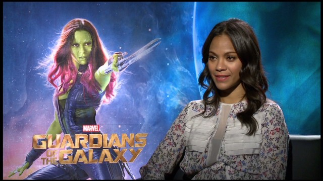 Zoe Saldana's heroless 'Guardians'