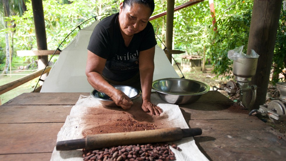 Beautiful, wild and completely off the grid, La Loma is a working chocolate farm and probably the most delicious place to stay in the country.