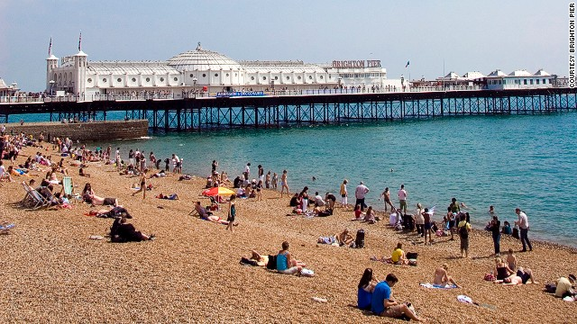 Brighton's only remaining pier (the rest have burned down).