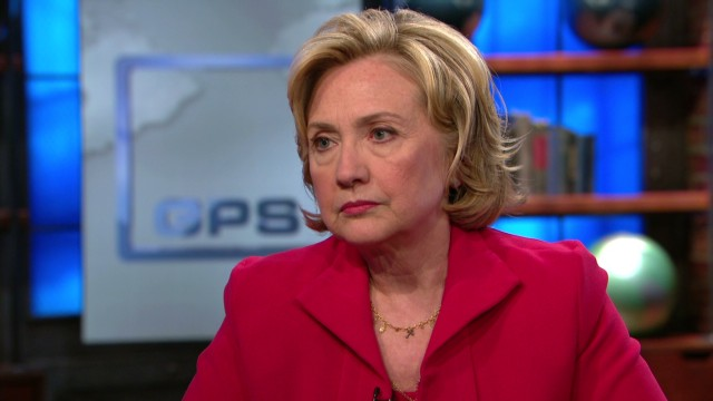 Hillary Clinton on Israeli offensive