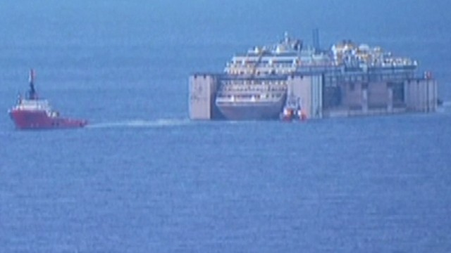 Costa Concordia's final voyage