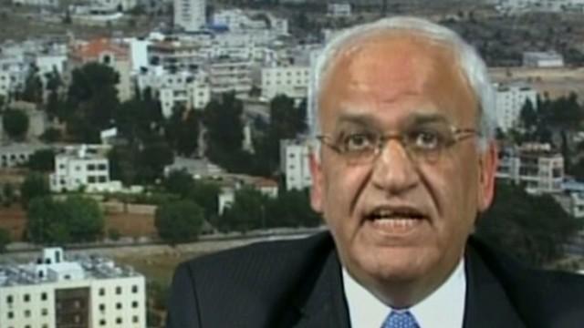 chief Palestinian negotiator Saeb Erekat  tunnels Newday_00011229.jpg