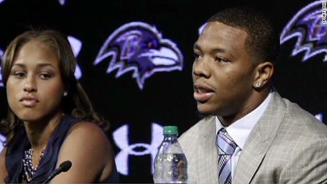 Outrage over Ray Rice's suspension