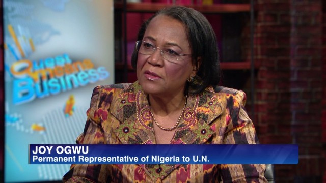 Joy Ogwu on terror in Nigeria