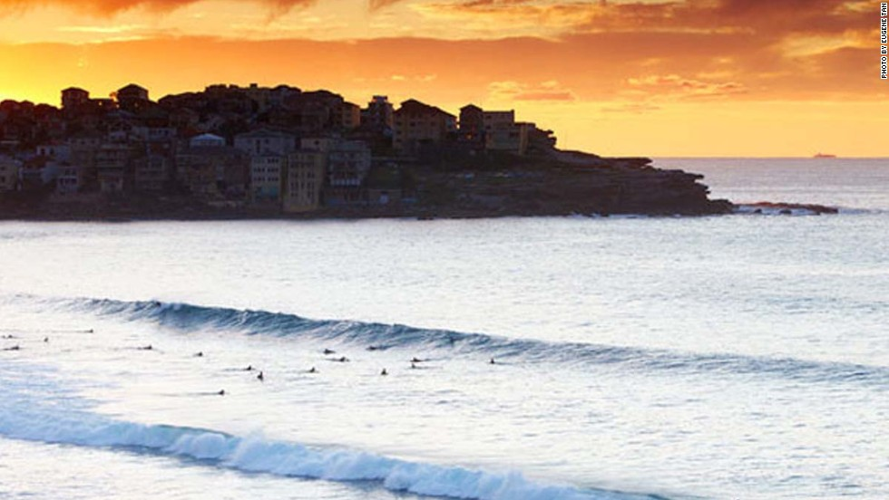 "Bondi Beach -- a major cause of Sydney's ""sick"" days."