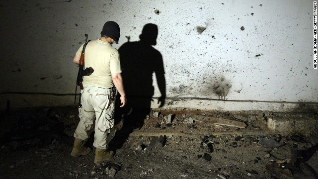 Libyan author describes Benghazi bedlam