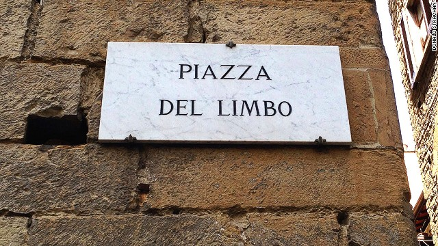 Piazza del Limbo: offbeat destination.