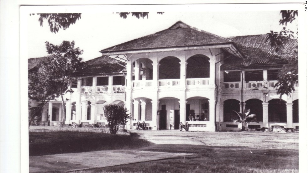 Singapore's Capella hotel was once the Royal Artillery Officers' Mess, seen here in the 1950s.