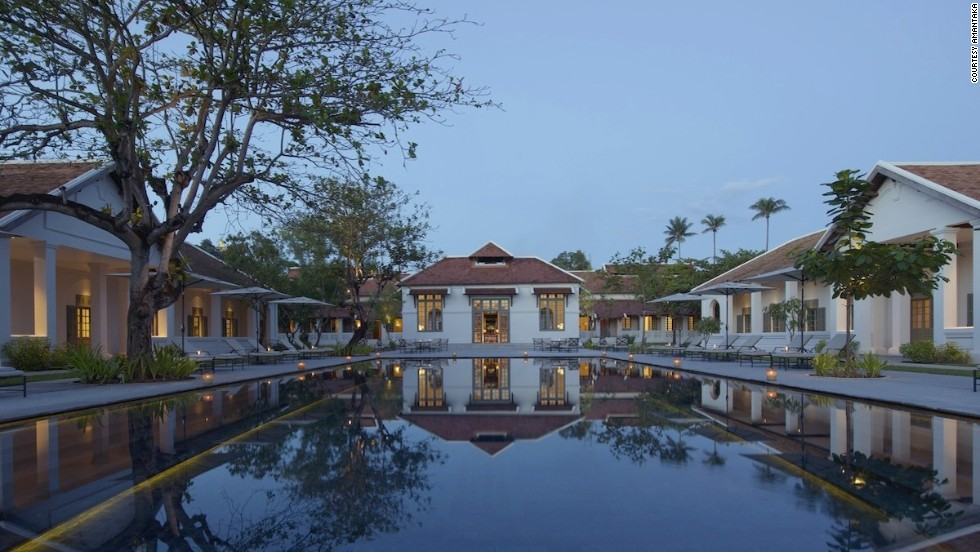 The 32 original buildings that now house the all-suite Amantaka once formed Luang Prabang's old provincial hospital, whose first phase is estimated to have been constructed between 1901 and 1910.