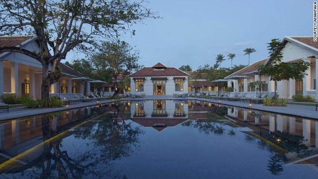 The 32 original buildings that now house the all-suite Amantaka once formed Luang Prabang's provincial hospital.