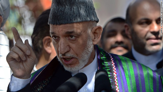Afghan President Hamid Karzai has sent a government delegation to investigate, a statement from his office said.