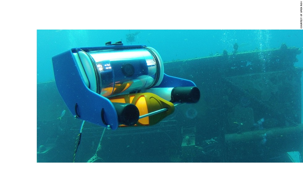 "The <a href=""http://openrov.com/"" target=""_blank"">Open ROV</a> project gives enthusiasts the chance to operate their own undersea robot for $849, using an open source design."