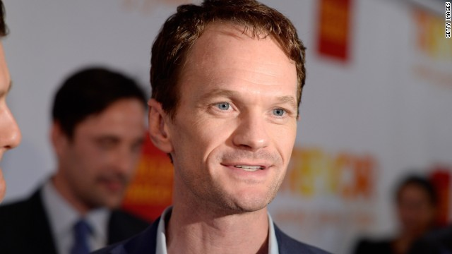 Actor Neil Patrick Harris at the Marriott Marquis Hotel on June 16, 2014 in New York City.