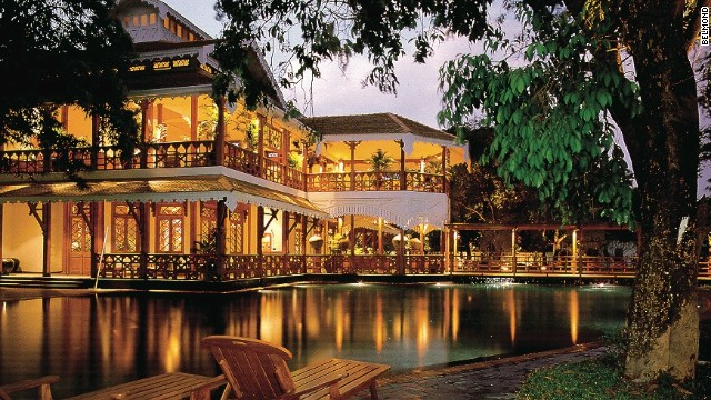 The Belmond Governor's Residence was once home to the ruler of Myanmar's southern states.