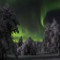 finland fantasy reality dark northern lights