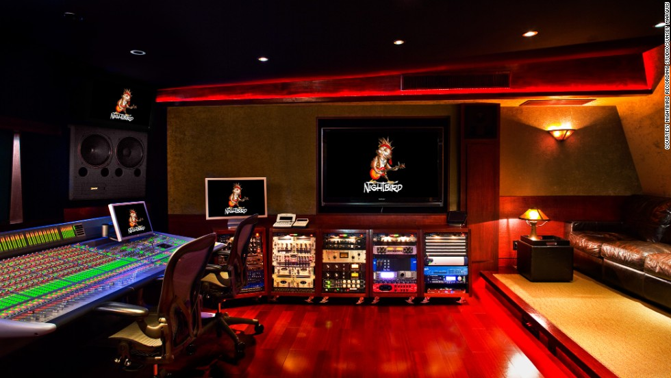 Budding Katy Perrys and Justin Biebers can live their fantasies at The Nightbird recording studios under the Sunset Marquis Hotel.