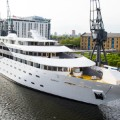 superyacht hotel london exterior